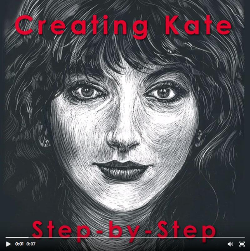 creating Kate step by step video