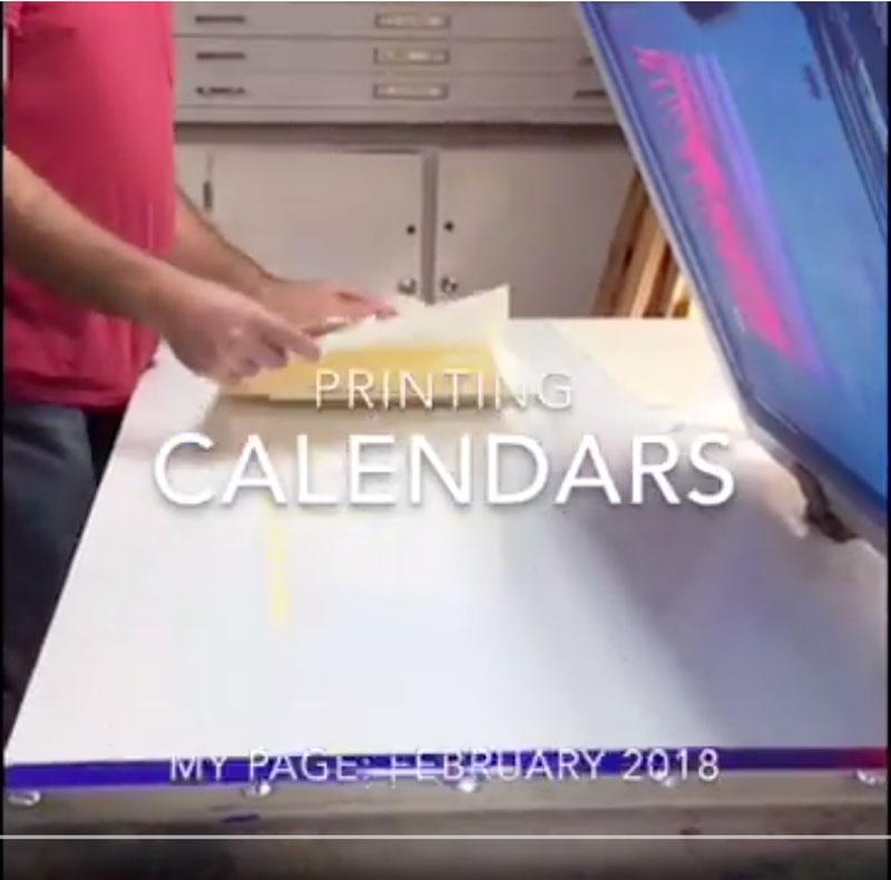 Printing Calendars video