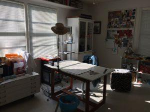 McAdams Studio work table